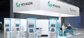 Le Process de Production, Autonome et Connecté de Hexagon - Rétroconception, Programmation, Simulation et Monitoring – au salon GLOBAL INDUSTRIE 2019 de LYON